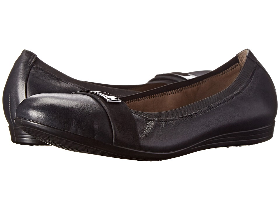 ECCO - Touch 15 Bit (Black/Black) Women's Slip on Shoes