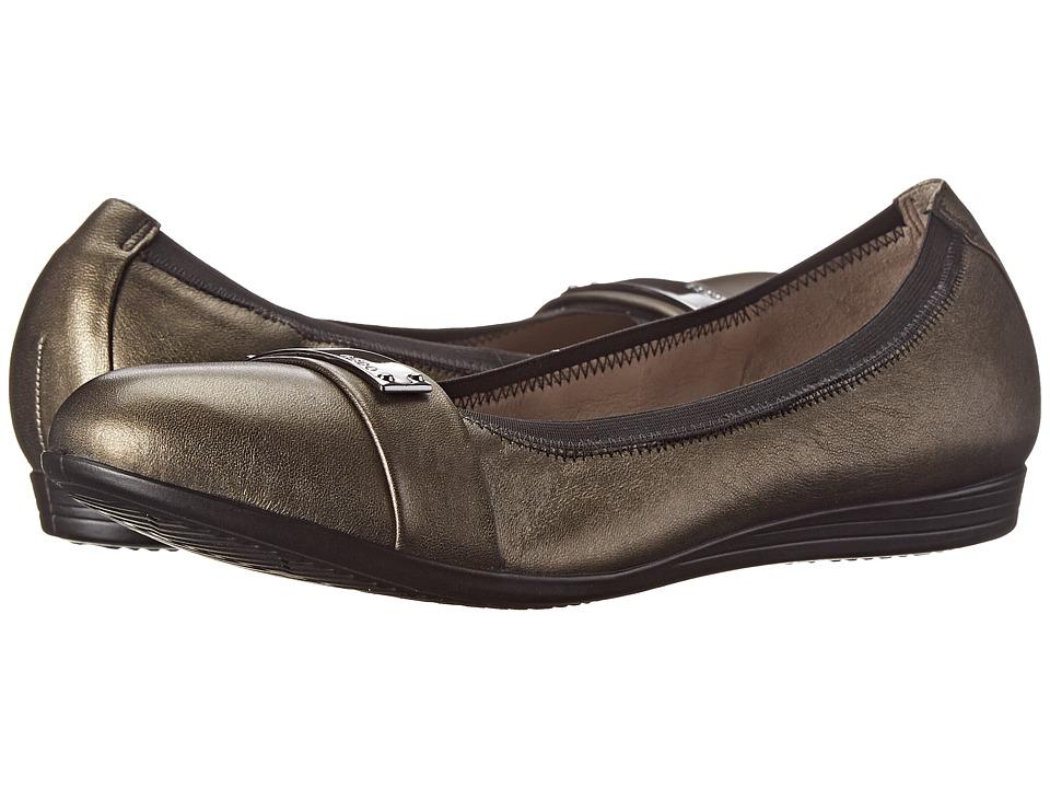 ECCO - Touch 15 Bit (Black/Warm Grey) Women's Slip on Shoes