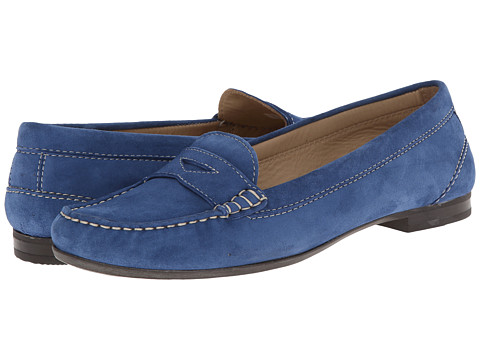ECCO - Tonder Penny Loafer (Mazarine Blue) Women's Shoes