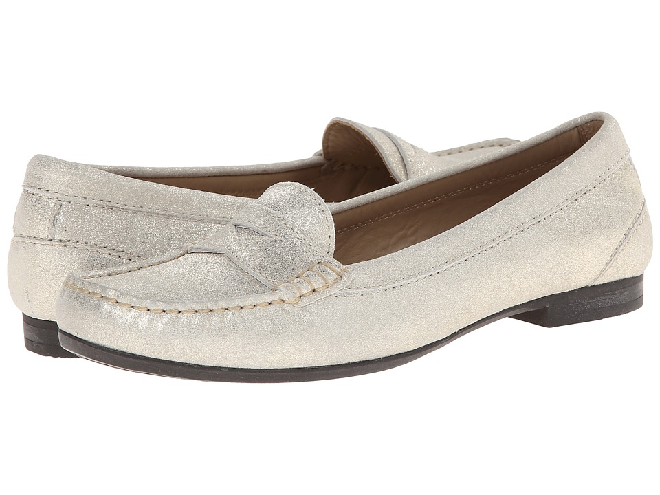 ECCO - Tonder Penny Loafer (Shadow White) Women's Shoes