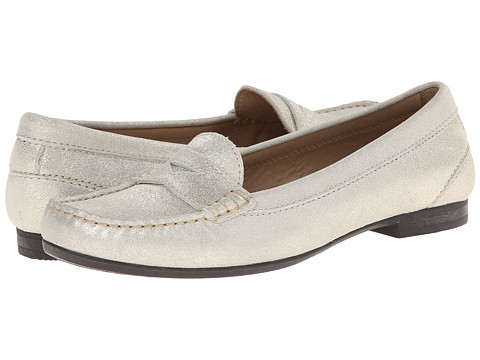 ECCO - Tonder Penny Loafer (Shadow White) Women