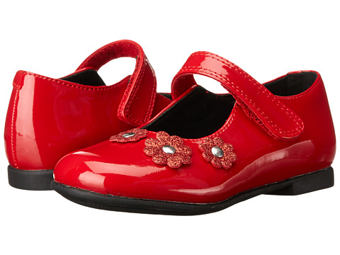Rachel Kids - Lil Jesselle (Toddler) (Red Patent) Girls Shoes