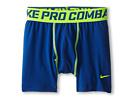 Nike Kids Pro Combat Core Comp Short (Big Kids) (Gym Blue/Volt)
