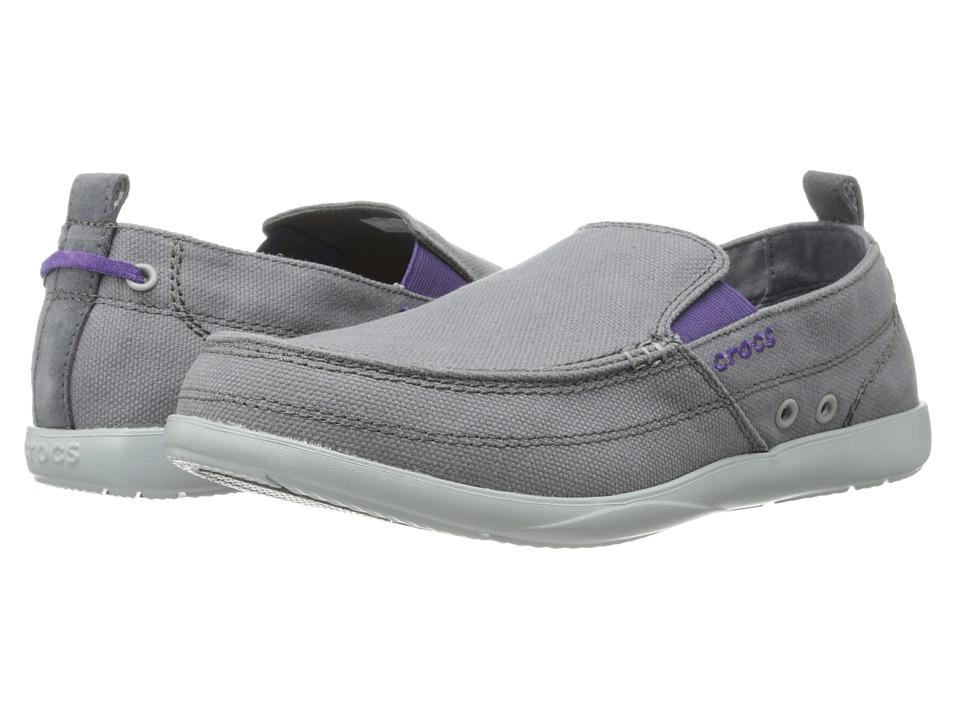 Crocs - Walu (Charcoal/Light Grey) Men