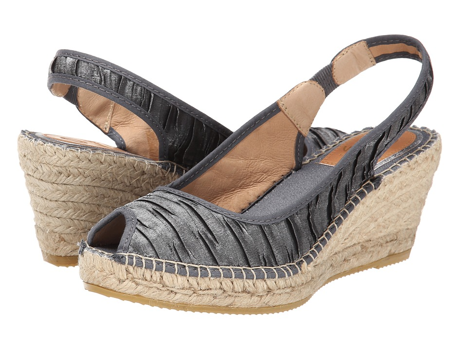 Vidorreta - Felicia (Grey Dunas Gris) Women's Sling Back Shoes