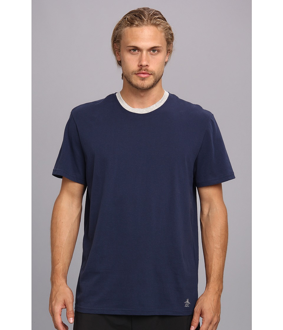 Original Penguin - Comfortable Soft Tee Shirt (Navy) Men's T Shirt