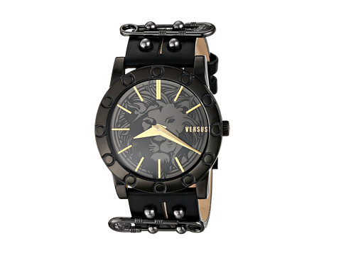 Versus Versace - Miami (Yellow Gold/Black) Watches