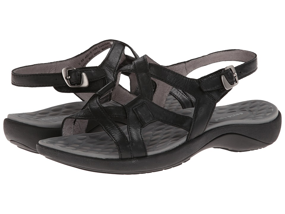 David Tate - Poppy (Black) Women's Shoes