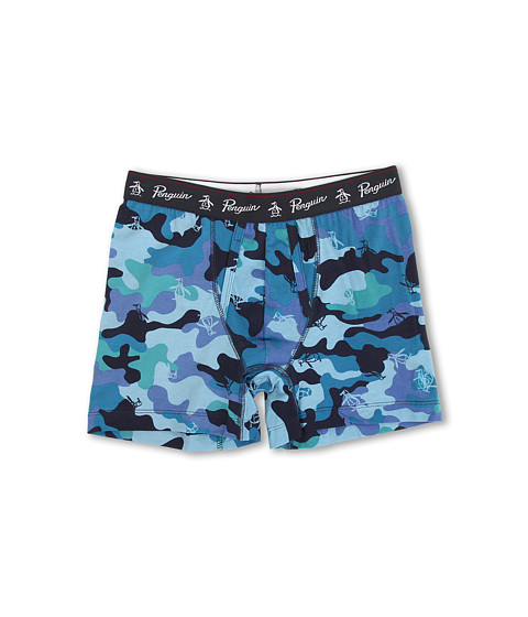 Original Penguin - Camo Cotton Stretch Boxer Brief (Camo) Men's Underwear