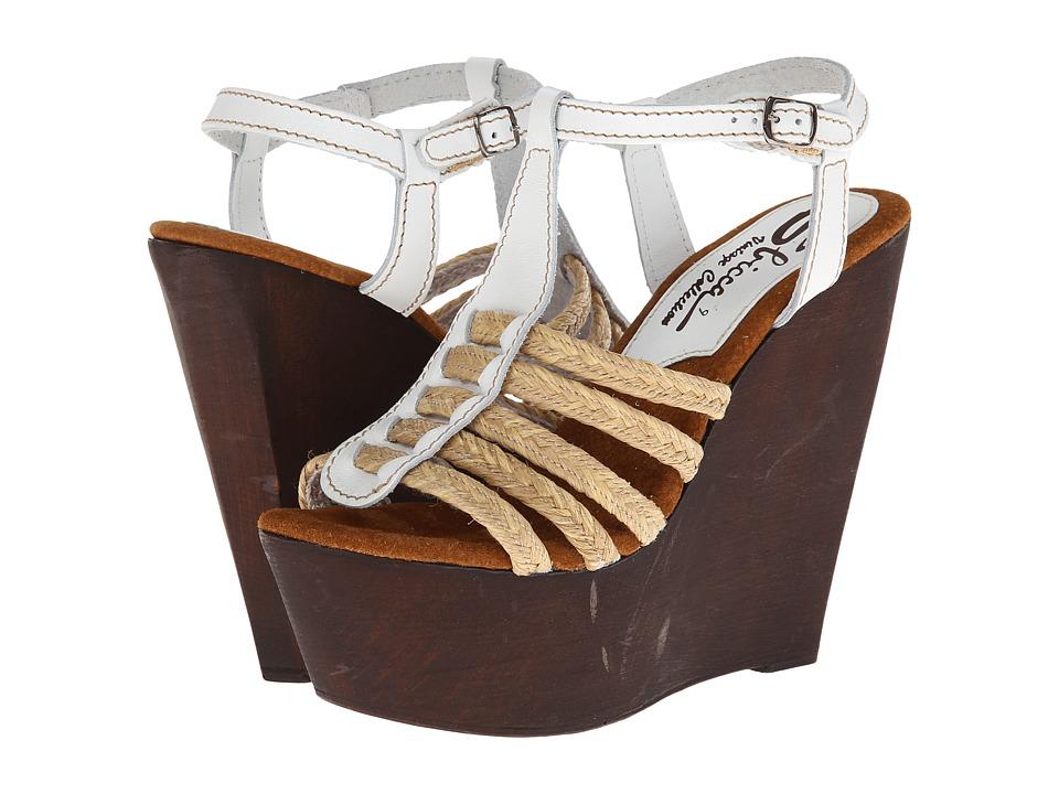 Sbicca - Bimini (White) Women's Wedge Shoes