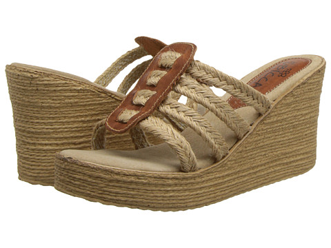 Sbicca - Del Sol (Tan) Women's Wedge Shoes