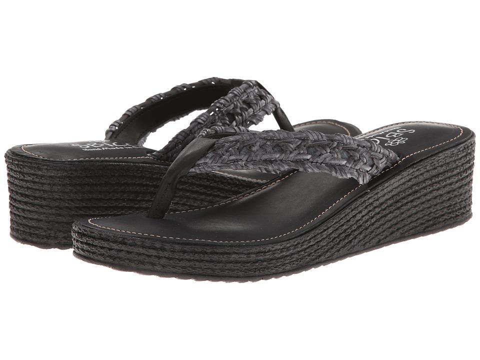 Sbicca - Altadena (Black) Women's Sandals