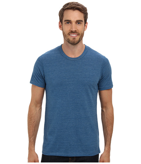 Alternative - S/S Crew Tee (Eco True Steel Blue) Men's T Shirt