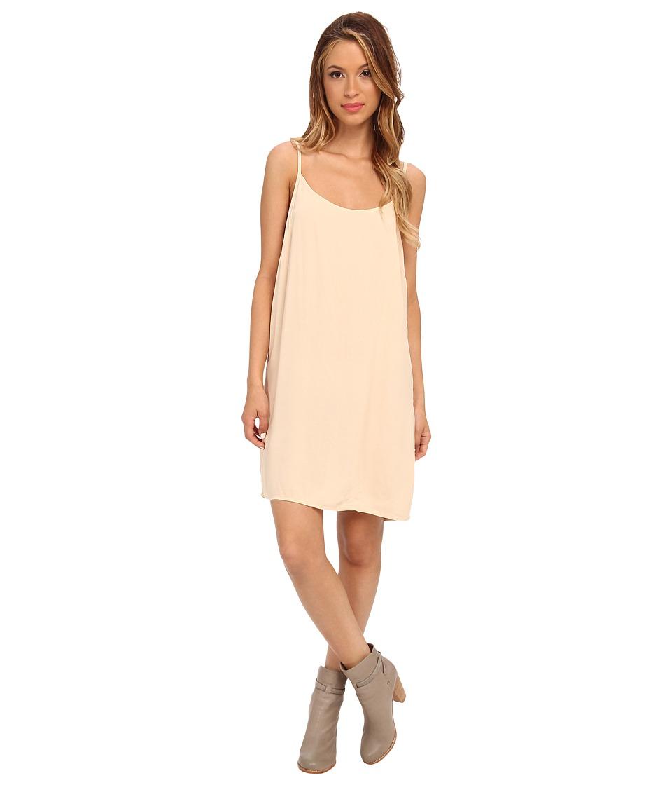 Alternative - Rayon Challis Slip Dress (Nude) Women's Dress