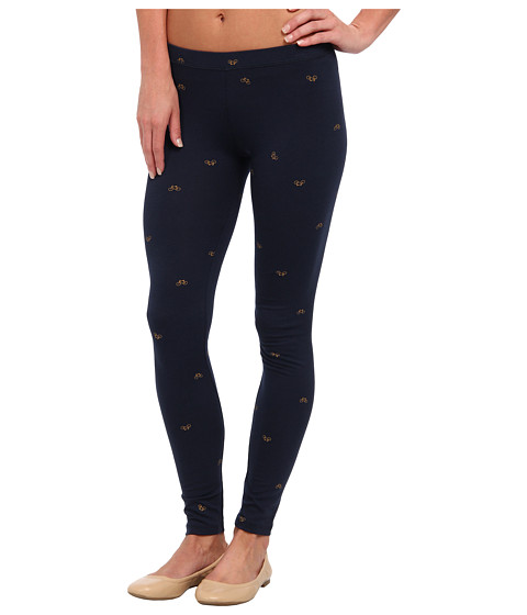 Alternative - Printed Skinny Legging (Midnight Bikes) Women's Casual Pants