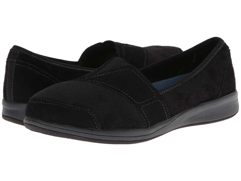 Easy Spirit - Fade Away (Black/Black Suede) Women