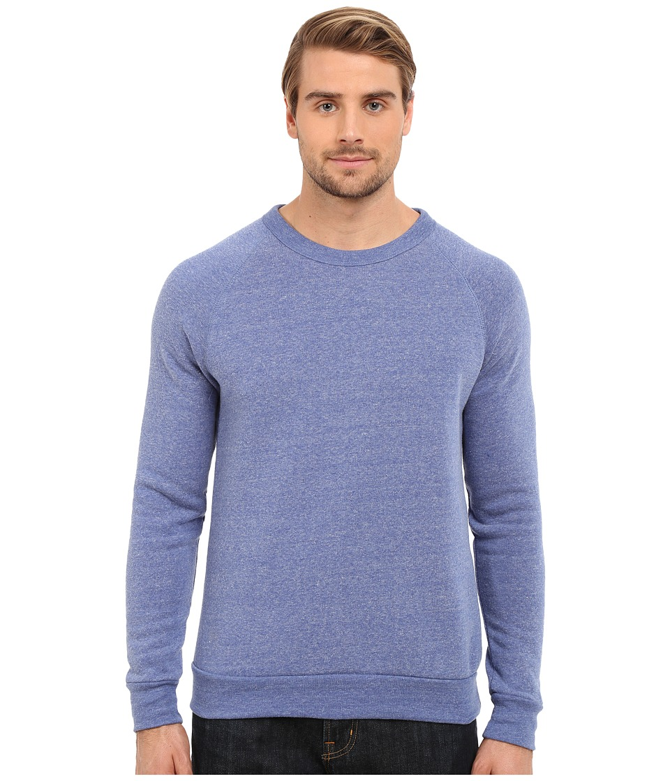 Alternative - Champ Eco Fleece Sweatshirt (Eco Pacific Blue) Men's Long Sleeve Pullover