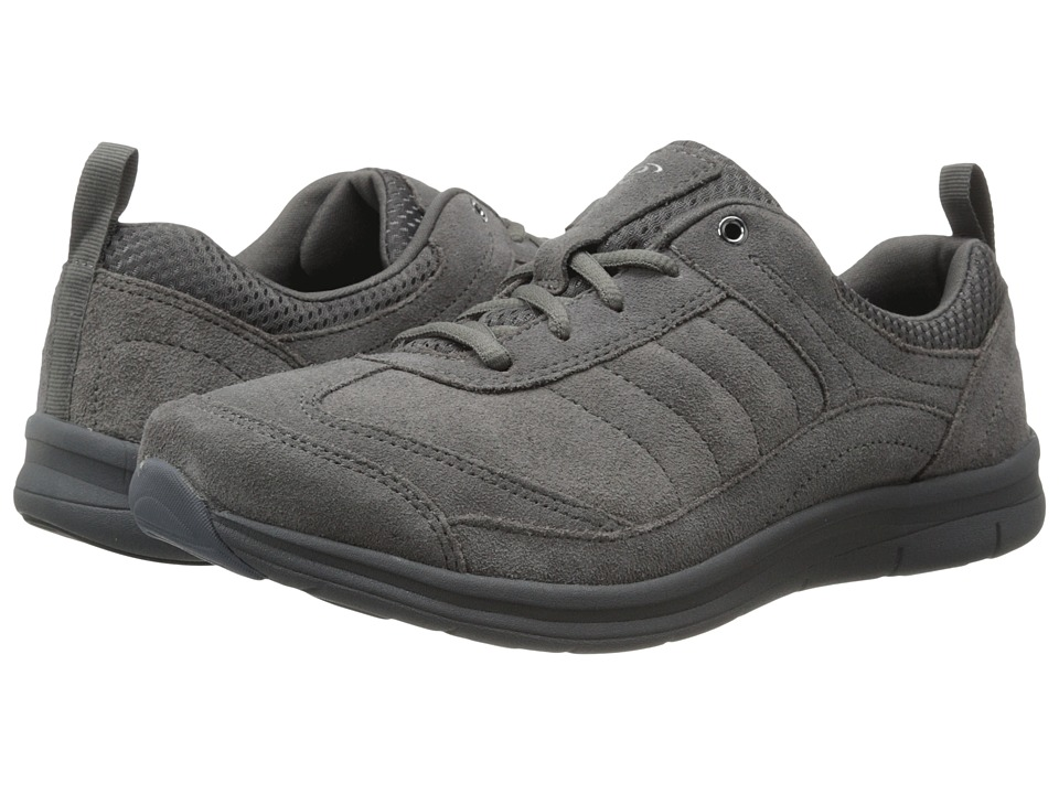 Easy Spirit - South Coast (Medium Grey/Medium Grey Suede) Women's Shoes