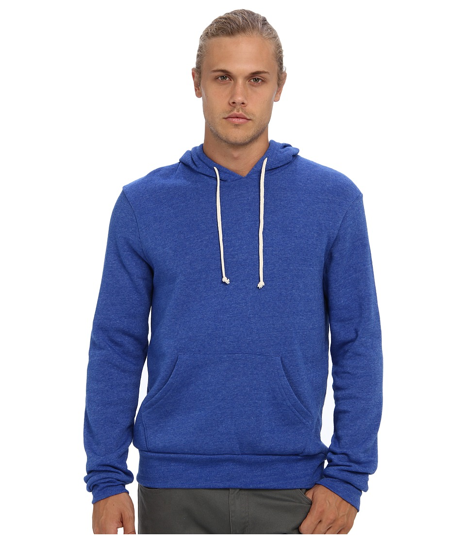 Alternative - Hoodlum Pullover Hoodie (Eco True Pacific Blue) Men's Long Sleeve Pullover