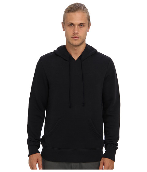 Alternative - Organic Heavy French Terry Hoodie (Black) Men's Sweatshirt