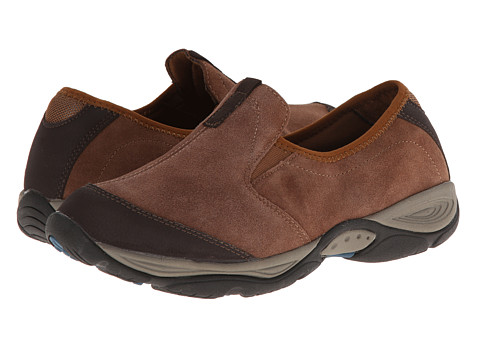 Easy Spirit - Evyn (Medium Brown Multi Suede) Women's Shoes
