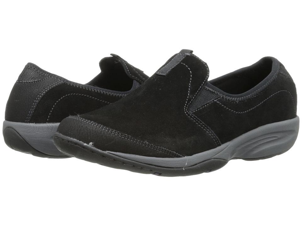Easy Spirit - Evyn (Black Multi Suede) Women's Shoes