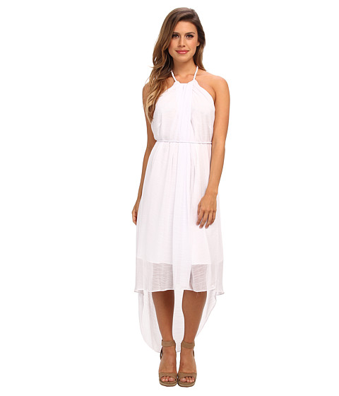 Marc New York by Andrew Marc - High-Low Halter Dress MD4C5287 (White) Women