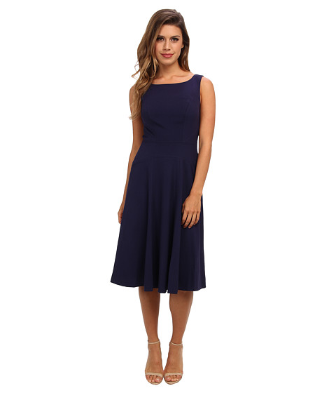 Marc New York by Andrew Marc - S/L Fit Flare Dress MD4X6321 (Nightfall) Women's Dress