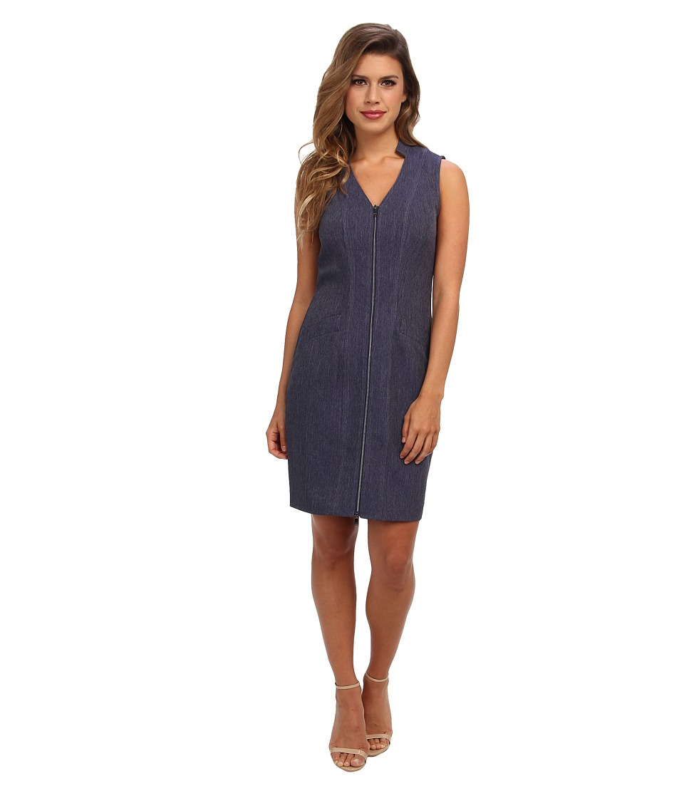 Marc New York by Andrew Marc - Sleeveless Zip Dress MD4H6334 (Nightfall) Women's Dress