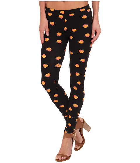 Alternative - Printed Skinny Legging (Black Peach) Women