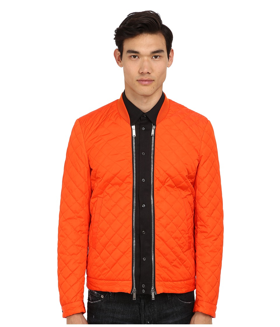 DSQUARED2 - Runway On The Run Bomber (Orange) Men's Coat