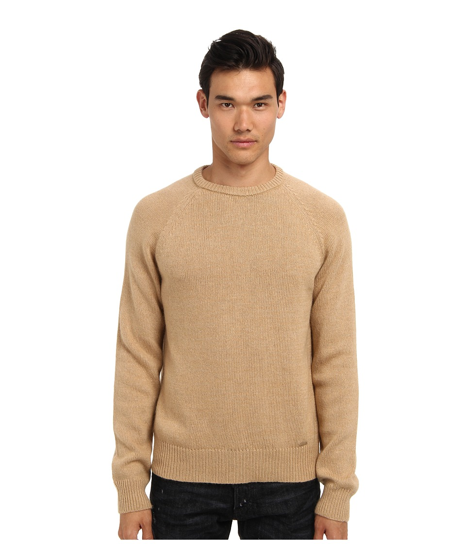 DSQUARED2 - Runway Sweater (Camel) Men's Sweater