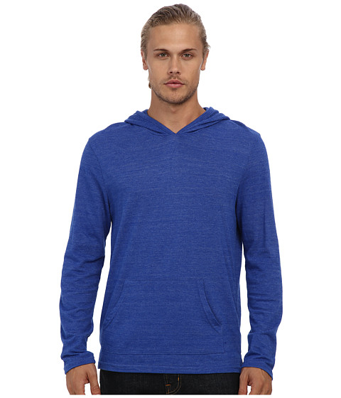 Alternative - Marathon Pullover Hoodie (Eco True Pacific Blue) Men's Sweatshirt