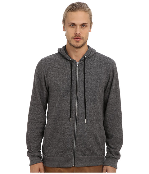 Alternative - Jaspe Hoodie (Eco Black) Men's Sweatshirt