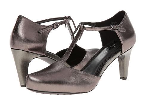 Easy Spirit - Damica (Pewter Leather) Women