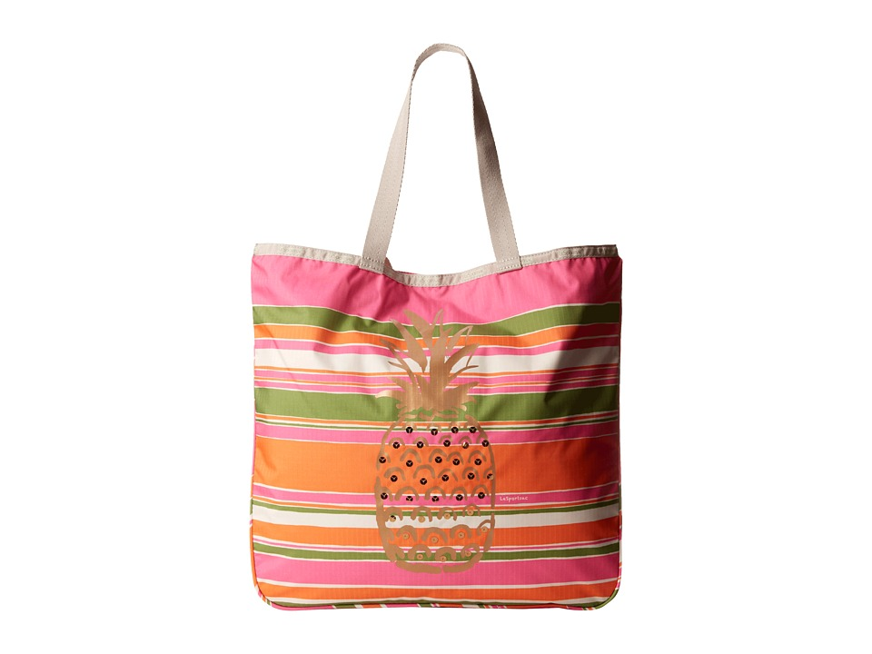 LeSportsac - Le Zip Tote (Pineapple Tote) Tote Handbags
