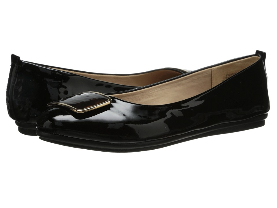 Easy Spirit - Godana (Black/Black Patent) Women