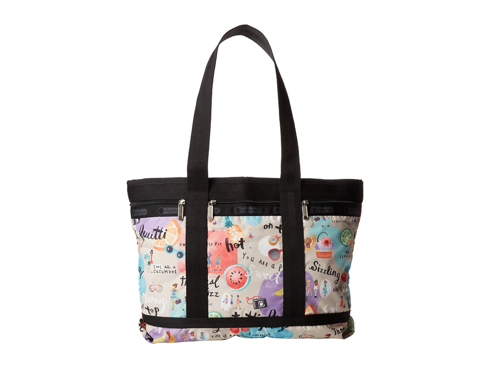 LeSportsac Luggage - Medium Travel Tote (Tutti Fruitti) Tote Handbags