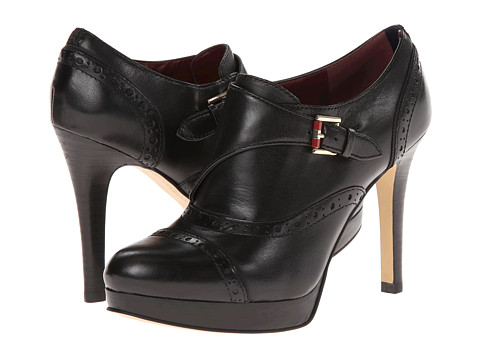 Tommy Hilfiger - Brithney (Black/Black Leather) High Heels