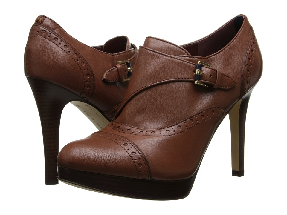 Tommy Hilfiger - Brithney (Light Chestnut Leather) High Heels