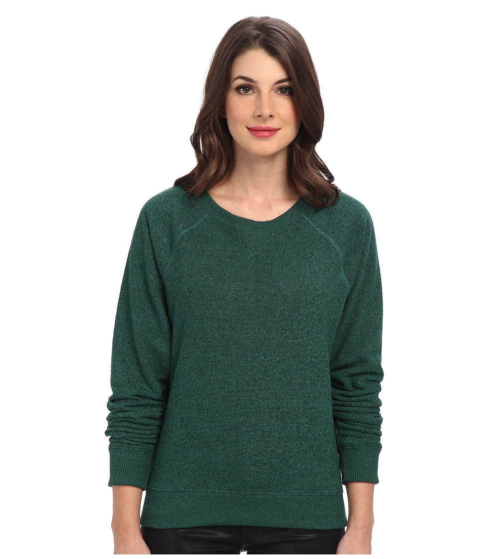 Alternative - Eco Jaspe Crew Neck (Eco True Evergreen) Women
