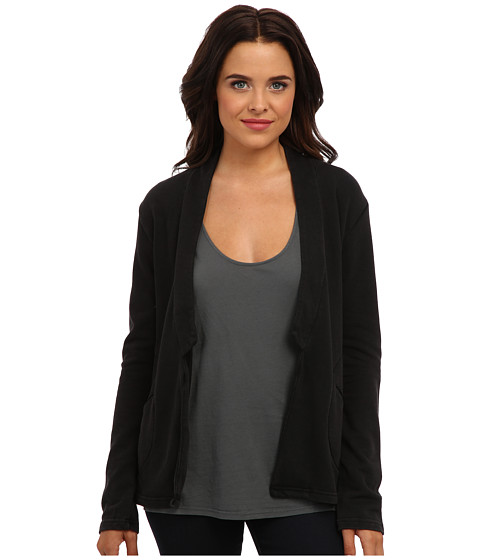 Alternative - Light French Terry Notch Blazer (Black) Women