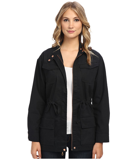 Alternative - Military Jacket (Black) Women's Coat