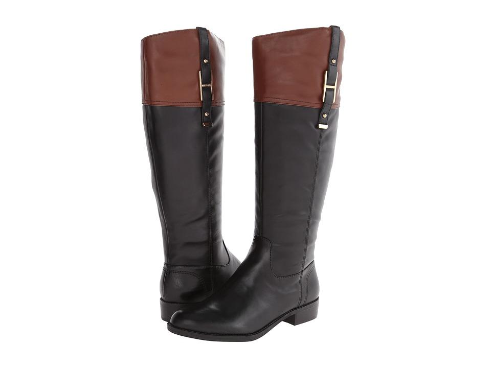 Tommy Hilfiger - Gibsy (Black/Light Chestnut) Women's Shoes