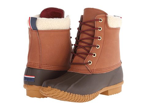 Tommy Hilfiger - Russel (Chestnut/Roast Espresso/Black) Women's Lace-up Boots