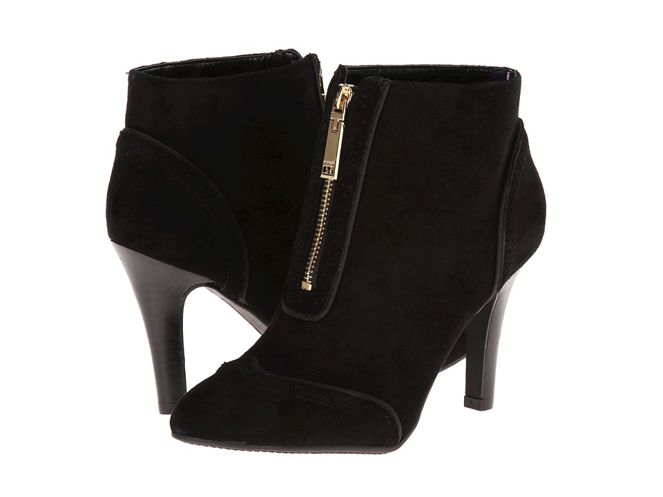 Tommy Hilfiger - Scotlin (Black/Black Suede) Women