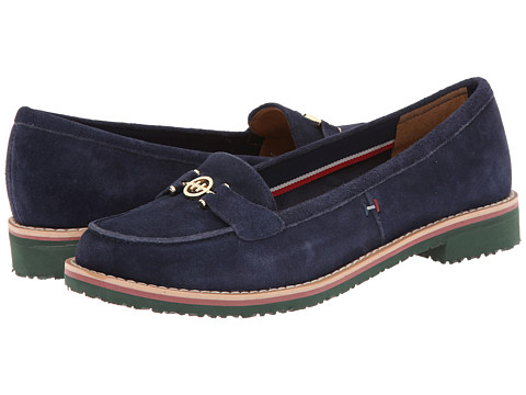 Tommy Hilfiger - Odessa (Marine Suede) Women's Shoes