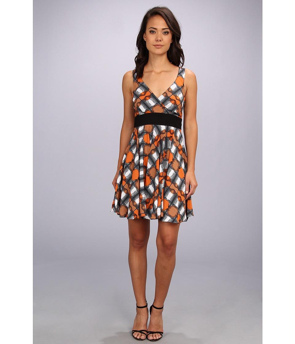 Coconinno by Eva Franco - Rory Dress (Orange Leopard) Women's Dress