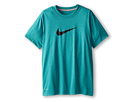 Nike Kids Essentials Legend S/S Top (Little Kids/Big Kids) (Catalina/Dark Grey Heather/Black)