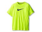 Nike Kids Essentials Legend S/S Top (Little Kids/Big Kids) (Volt/Dark Grey Heather/Gym Blue)